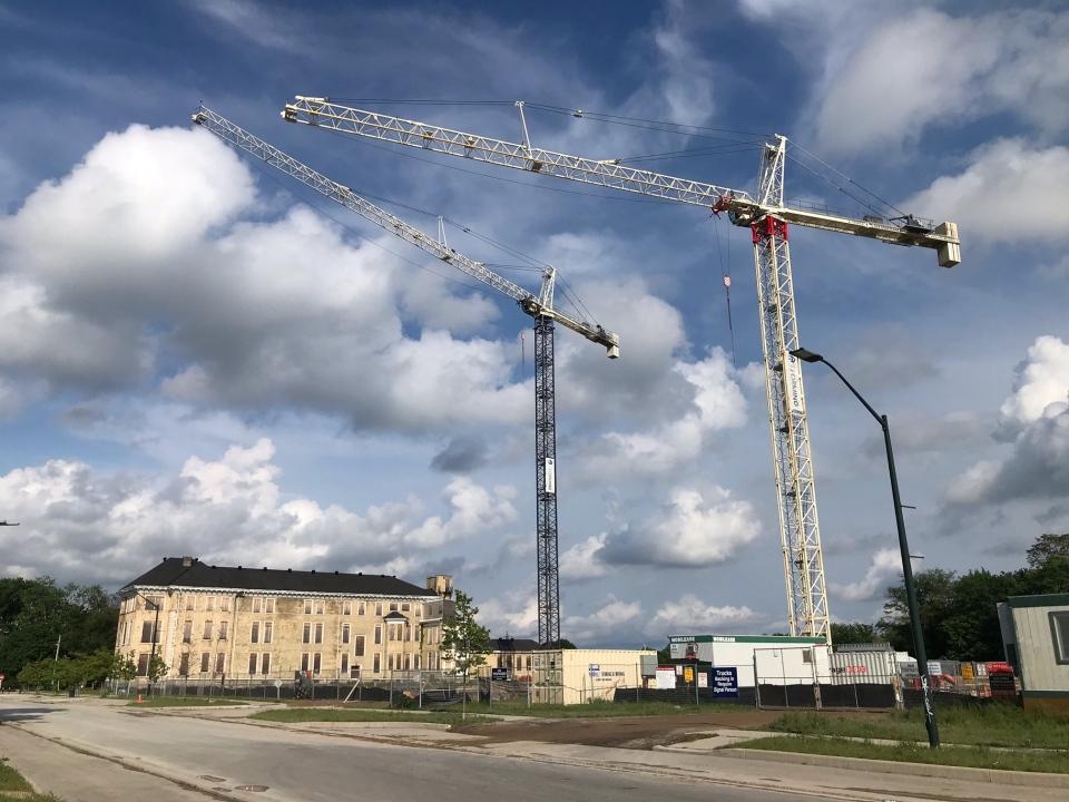 Cranes over SoHo