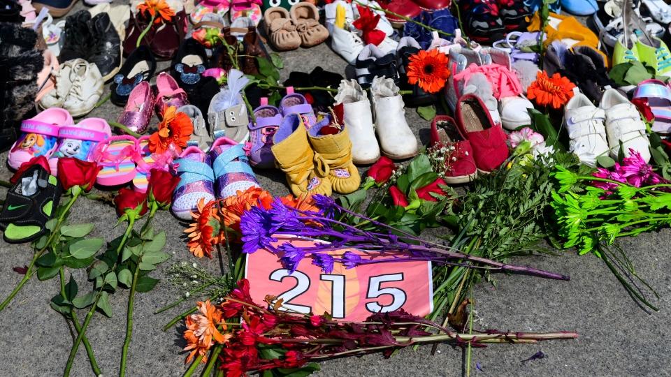 Residential school victims memorial