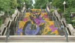 The stairs between Sussex Drive and Mackenzie Avenue in Ottawa on Thursday, June 3, 2021.