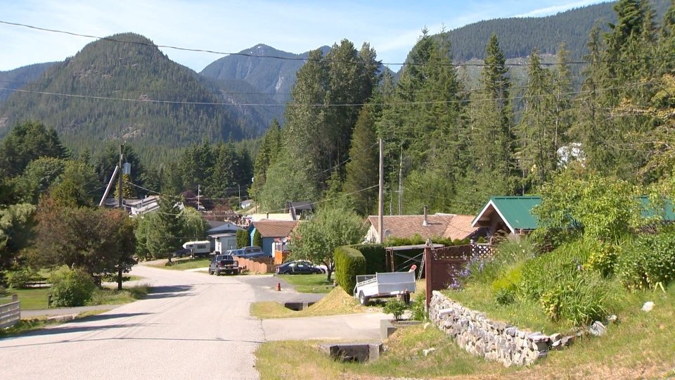 The Village of Woss in North Vancouver Island is pictured: (CTV News)