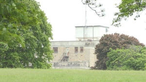 Heritage activists are pushing for a heritage designation to protect the former Ontario Reformatory in Guelph. (Heather Senoran/CTV Kitchener)