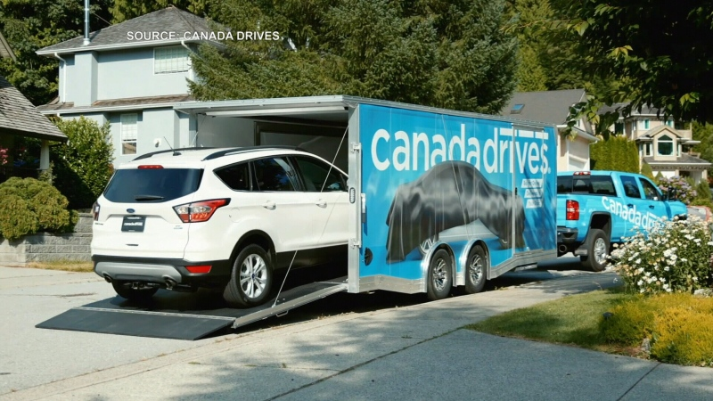 Canada Drives allows Ontarians to buy cars online and have them shipped to their home same-day.