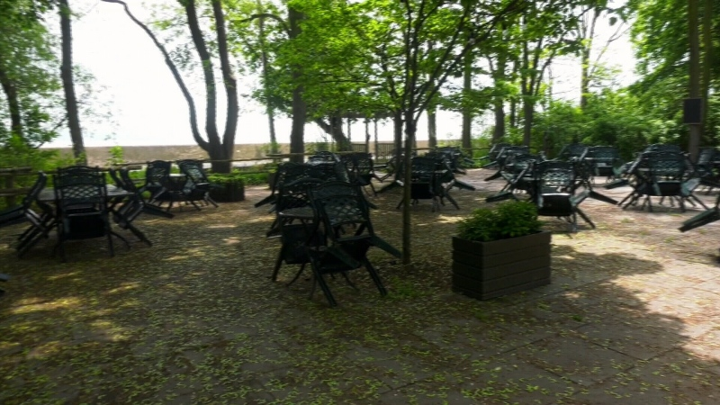Crowds are beginning to trickle onto the Toronto Islands amid summer weather and a lifted stay-at-home order.