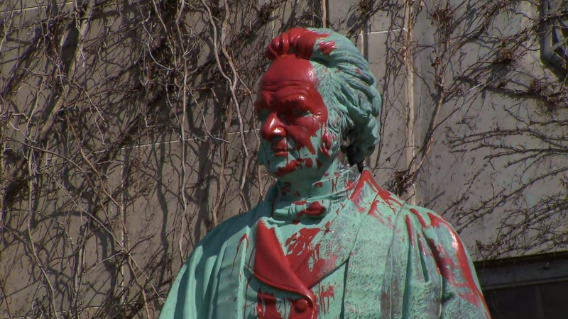 Amid increased vandalism towards Egerton Ryerson monuments, Ontario officials reckon with Ryerson's residential school legacy.