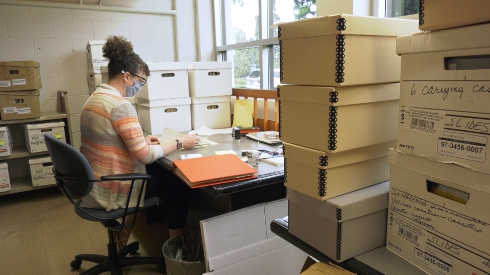 Royal B.C. Museum residential school archives