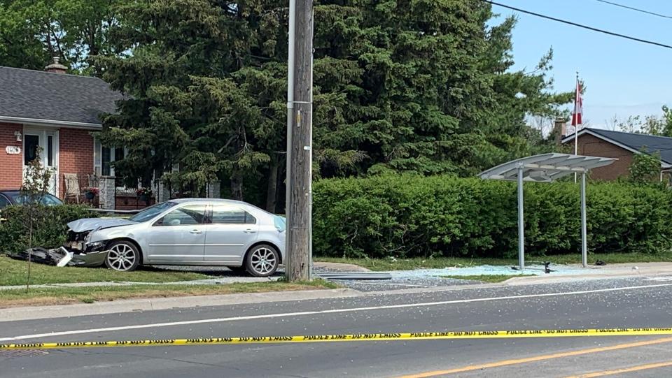 Kingston Montreal Sheppard crash