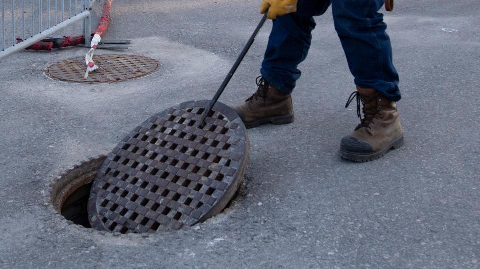 Manhole in Ottawa