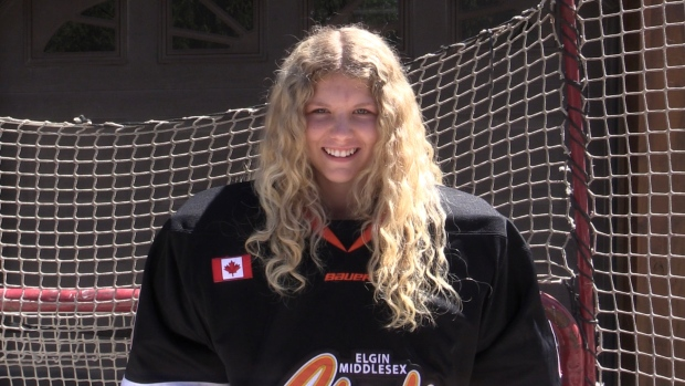 Parkhill, Ont. goalie makes history as first female ever selected in OHL Draft