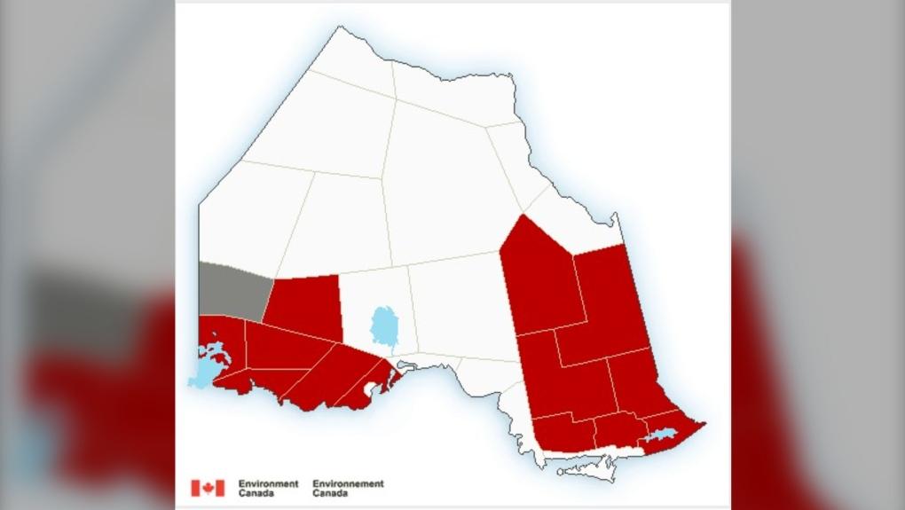 Environment Canada Map June 5 2021