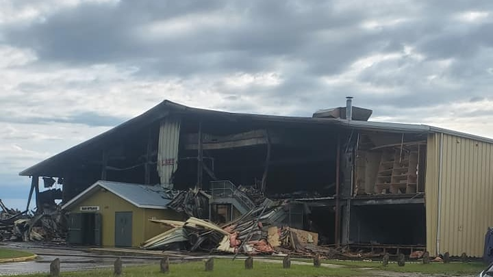 MEADOW LAKE ARENA FIRE