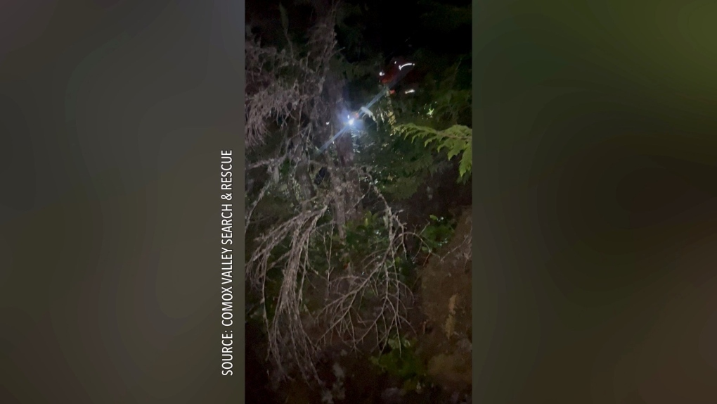 Comox Lake rescue