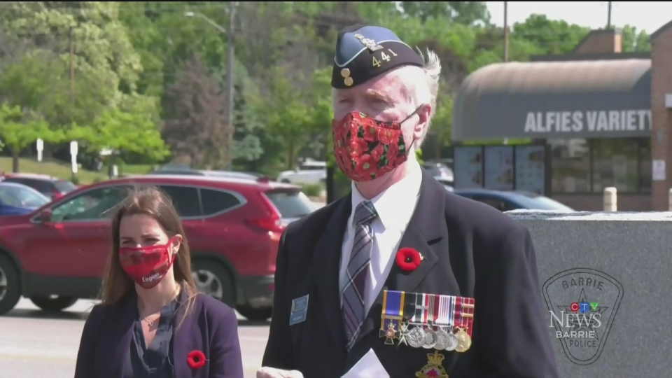 Barrie veteran joins D-Day Ceremony