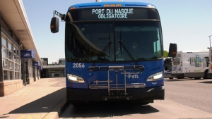 Laval's new electric buses