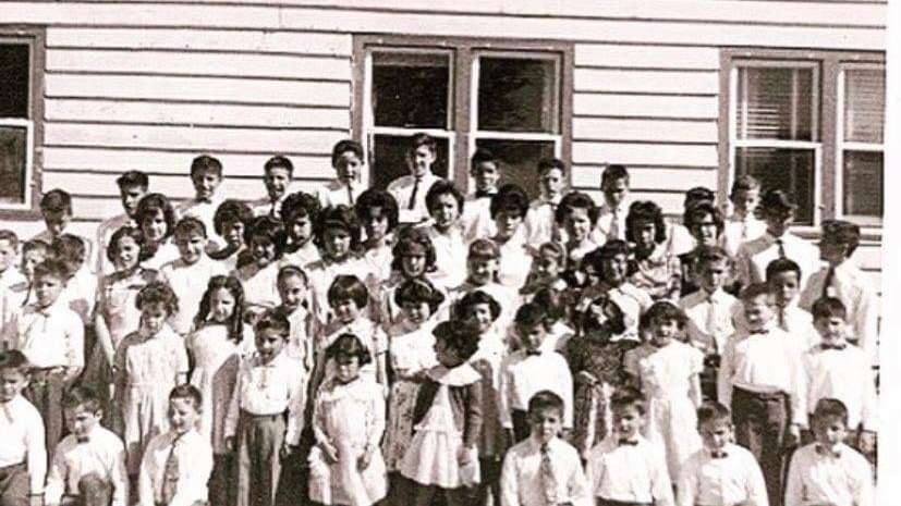 Timber Bay residential school, near Lac La Ronge.