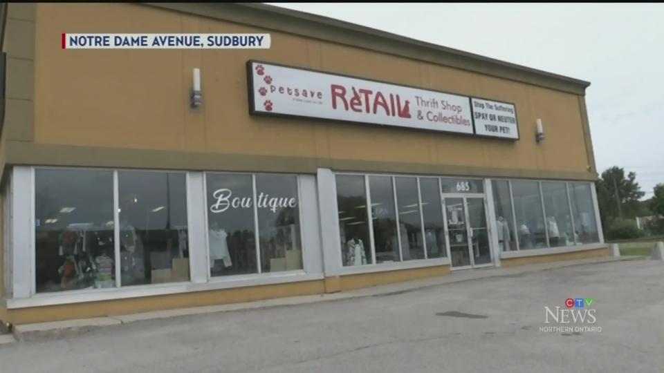 Petsave Sudbury's new thrift store location