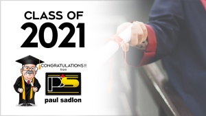 Congratulations to the Class of 2021 from CTV News Barrie, sponsored by Paul Sadlon Motors.
