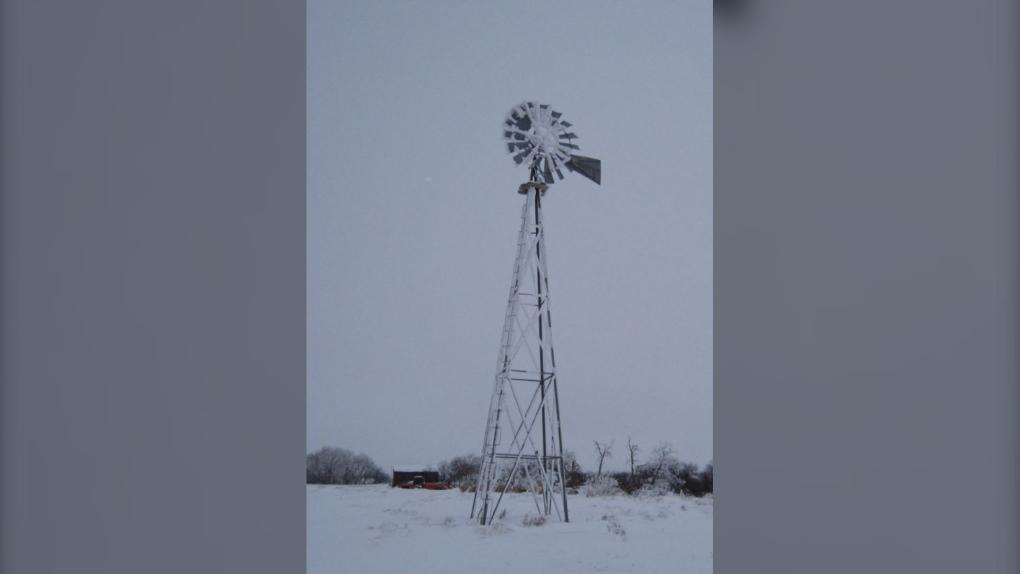 stolen windmill