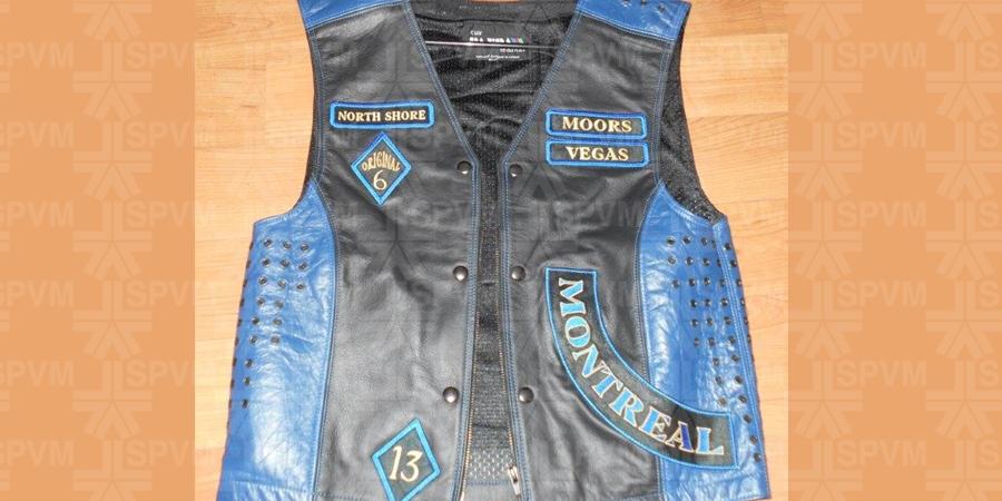 Moors motorcycle club vest