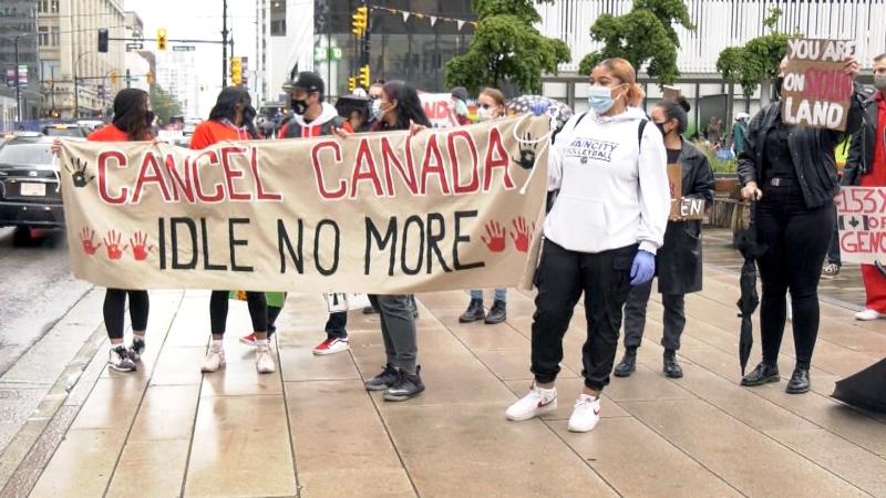 Renewed push to cancel Canada Day