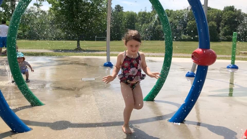 Hannah Davis splash pad