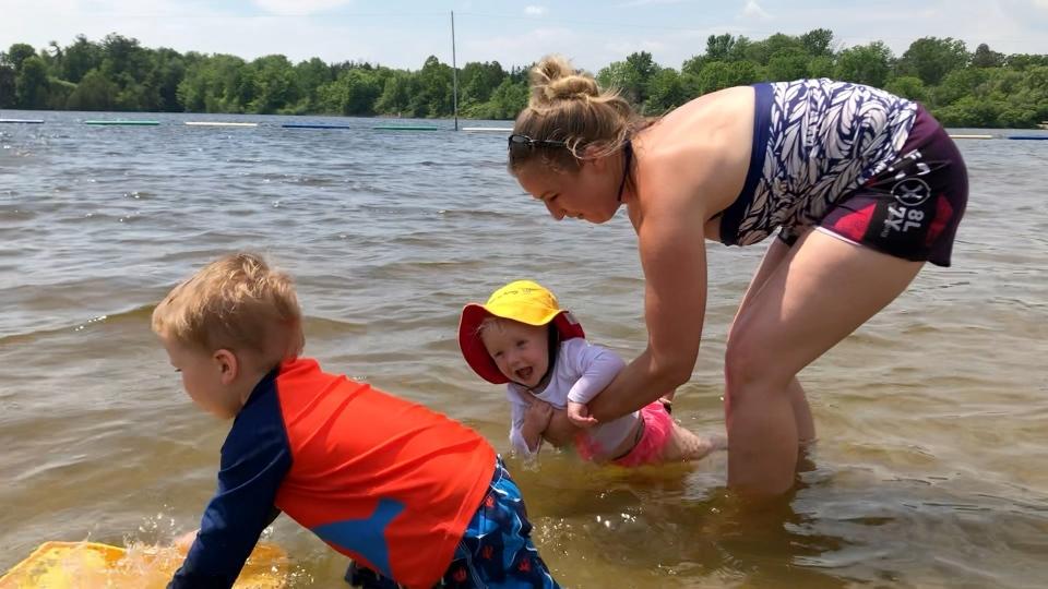 Kristina Doyle and kids