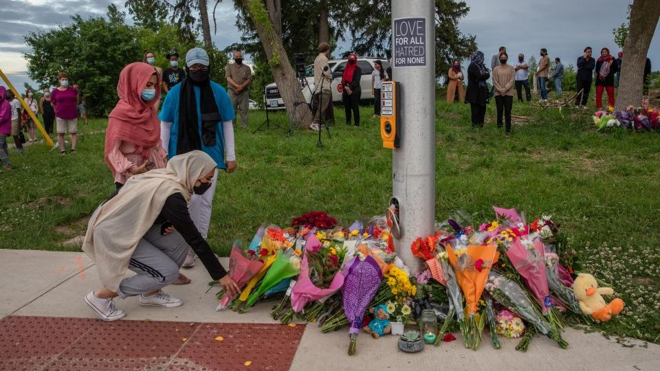 Mourning the London crash
