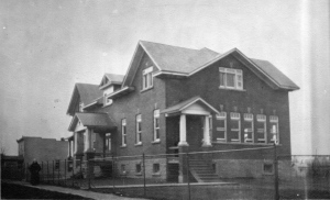 Around 5,000 students from Kahnawake attended one of its Indian Day Schools that were run by the Catholic and United Churches until 1988. SOURCE: KOR cultural center