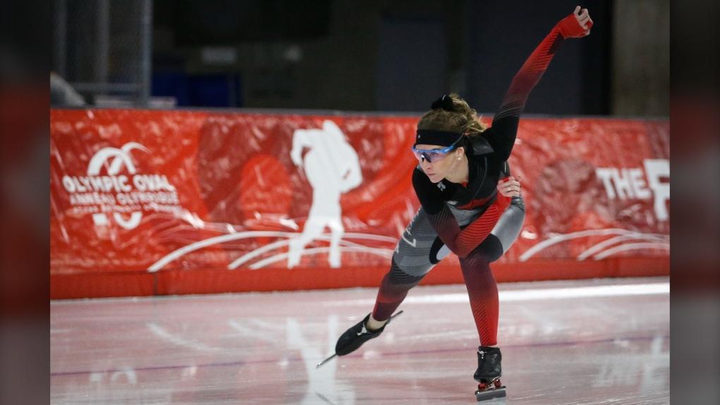 Olympic Oval, speedskater, Ivanie Blondin,