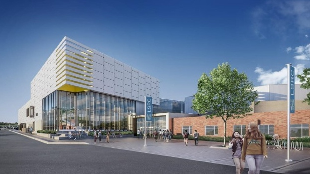 A look at the new Lancer Centre to replace Adie Knox  in Windsor, Ont., on Tuesday, June 8, 2021. (Courtesy City of Windsor)