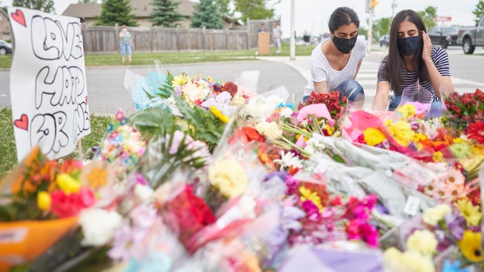 London crash memorial