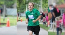 Nathaniel Veltman, then of Strathroy, Ont., is seen taking part in the St. Clair River Run. Police have not provided a photo of the suspect.
