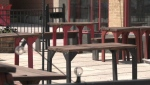 Patios are empty in Ottawa, but by Friday, June 11, they will be filled again with people, something diners and restaurateurs alike are looking forward to. (Colton Praill / CTV News Ottawa)