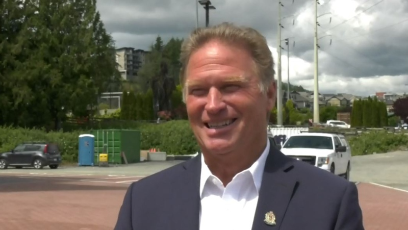 Langford Mayor Stew Young is pictured on June 8, 2021: (CTV News)