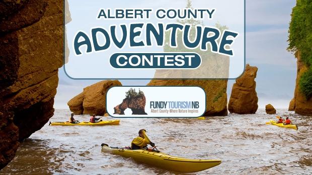 Albert County Adventure Contest Header