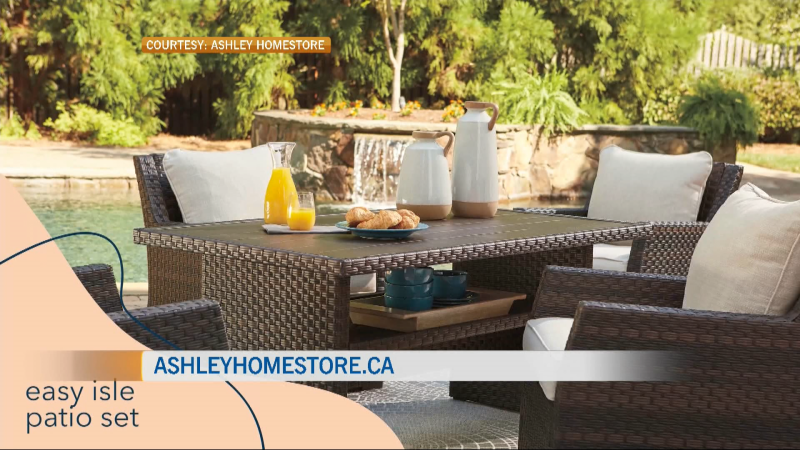 Maximize your indoor and outdoor spaces with the right design pieces from Ashley HomeStore. Lane Fraser has more