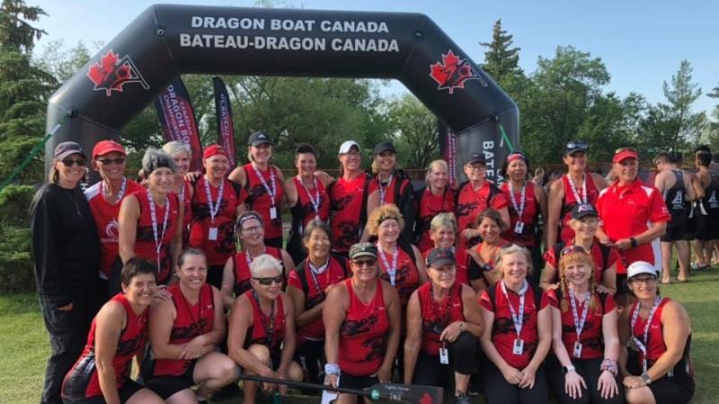 Rowbust Dragon Boat Team (Source: Rowbust Dragon Boat Team )