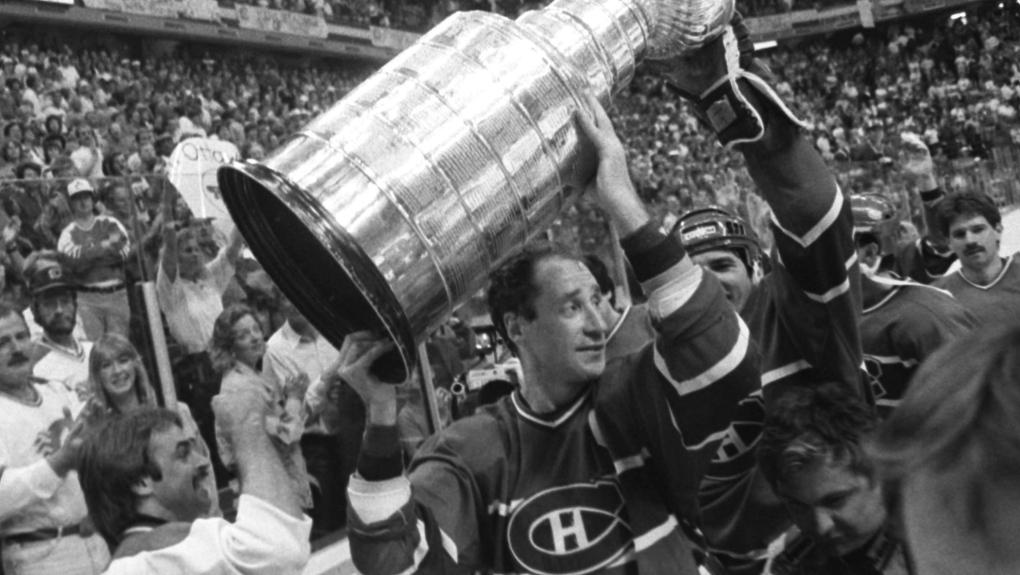 Montreal Canadiens' captain Bob Gainey