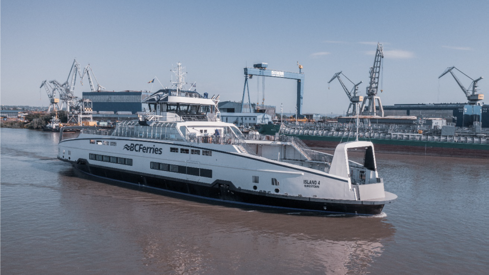 island class hybrid ferry