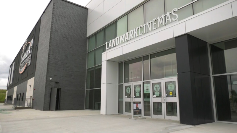 A Landmark Cinema in Edmonton, Alta. June 9, 2021. (CTV News Edmonton)