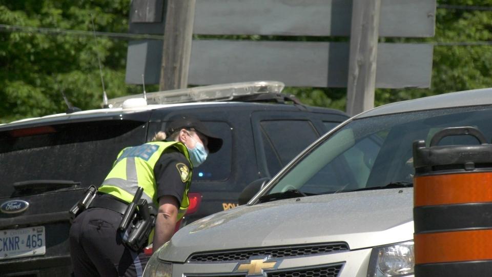 OPP border checkpoints