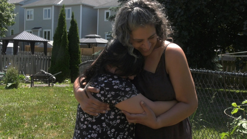 Tina Cannon is organizing a special prom for her daughter Makenzie after high schools cancelled in-person graduation ceremonies and proms. (Leah Larocque/CTV News Ottawa)