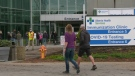 An Alberta Health Services initiative meant to attract people yet to receive their first COVID-19 vaccine dose attracted 168 people on its first day. (CTV News Edmonton)
