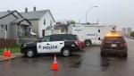 EPS is investigating a homicide in central Edmonton. June 9, 2021. (CTV News Edmonton)