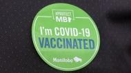 I got vaccinated sticker
