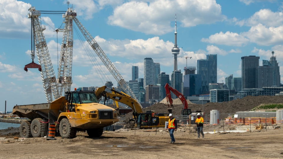 Construction in Toronto