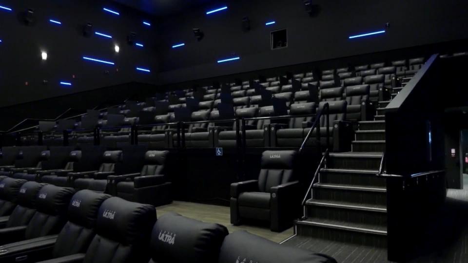 Stage 2, Alberta, movie theatres