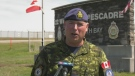 22 Wing/Canadian Forces Base North Bay Commander Col. Mark Lachapelle. June 9/21 (Eric Taschner/CTV Northern Ontario)