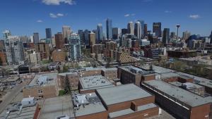 Calgary, downtown, skyline