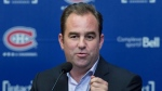Montreal Canadiens owner Geoff Molson has offered to send a local Jets fan a new jersey after reading about his alleged assault in downtown Montreal on June 7, 2021 after the Habs eliminated Winnipeg from the NHL playoffs. THE CANADIAN PRESS/Graham Hughes