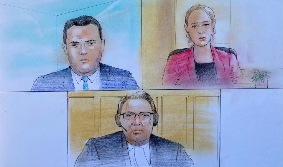 Veltman court appearance